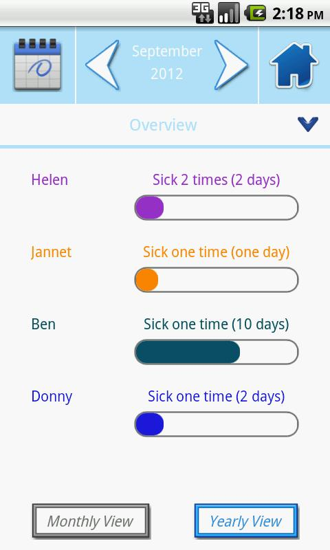 Medicalog for Families - screenshot