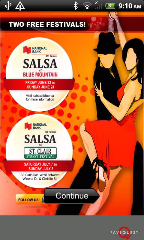 Salsa Festival- screenshot