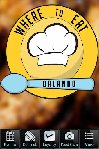 Where To Eat ORLANDO