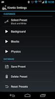 Screenshot of Kinetic Live Wallpaper Lite