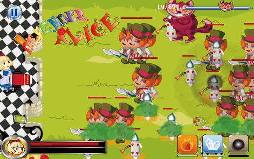防御 - 爱丽丝后卫(简单的游戏)|玩休閒App免費|玩APPs