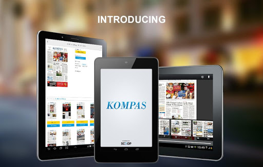 Kompas Kiosk by SCOOP