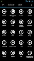 Screenshot of Buttonized Apex/ADW Icon Pack