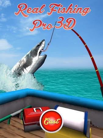 Real Fishing Pro 3D 1.3.2 screenshot 638737