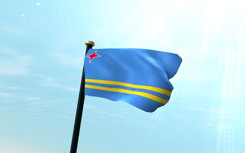 Aruba Flag Wallpaper
