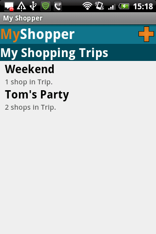 My Shopper Lite- screenshot