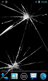 Cracked Screen Live Wallpaper - screenshot thumbnail
