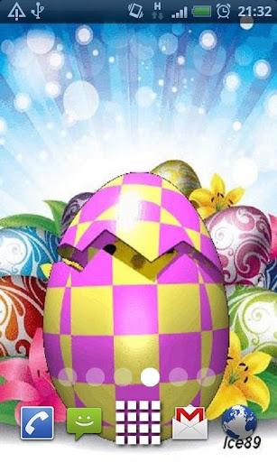 Easter Chick Live Wallpaper