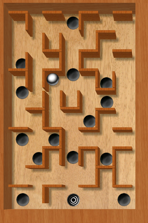 aTilt 3D Labyrinth Free - screenshot