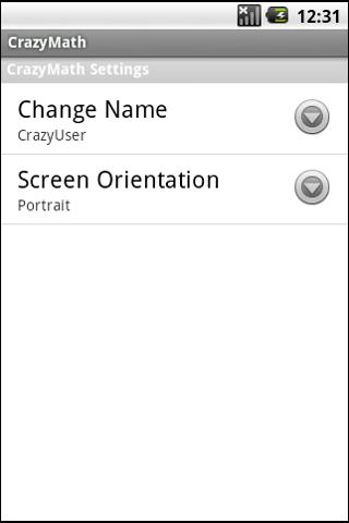 CrazyMath- screenshot