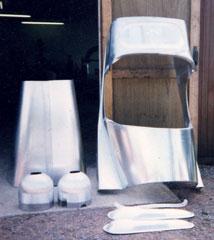 Aluminium body skin