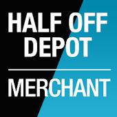 Half Off Depot: Merchant App.