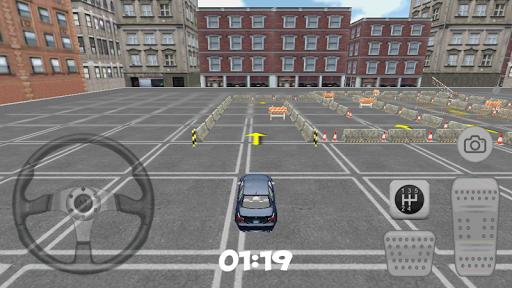3D City Speed Car Parkin