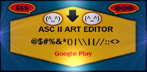 Asc II Art Editor APK
