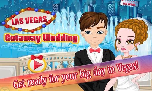 拉斯維加斯婚禮之旅:面部和改造的婚紗禮服,化妝,首飾。