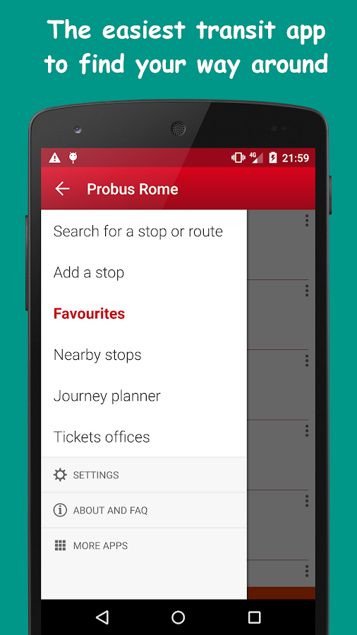 Probus Rome: Live Bus & Routes - screenshot