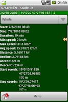 Screenshot of GPSTracker Lite