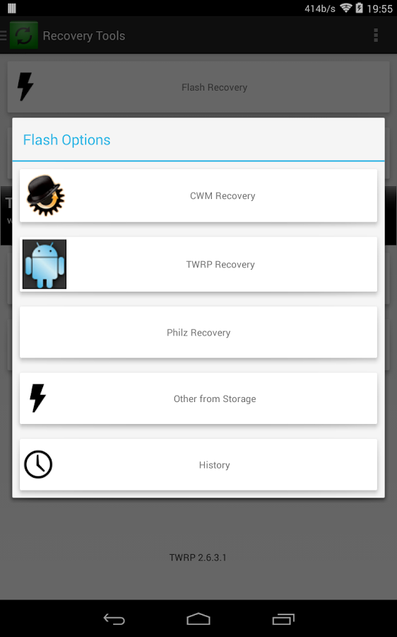 ROOT] Rashr - Flash Tool - Android Apps on Google Play