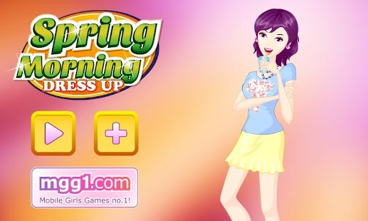 Spring Morning Dress Up - screenshot thumbnail