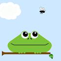 Funny treefrog live wallpaper logo