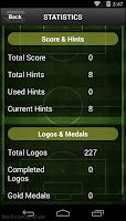 Screenshot of Football Logos Quiz 2014