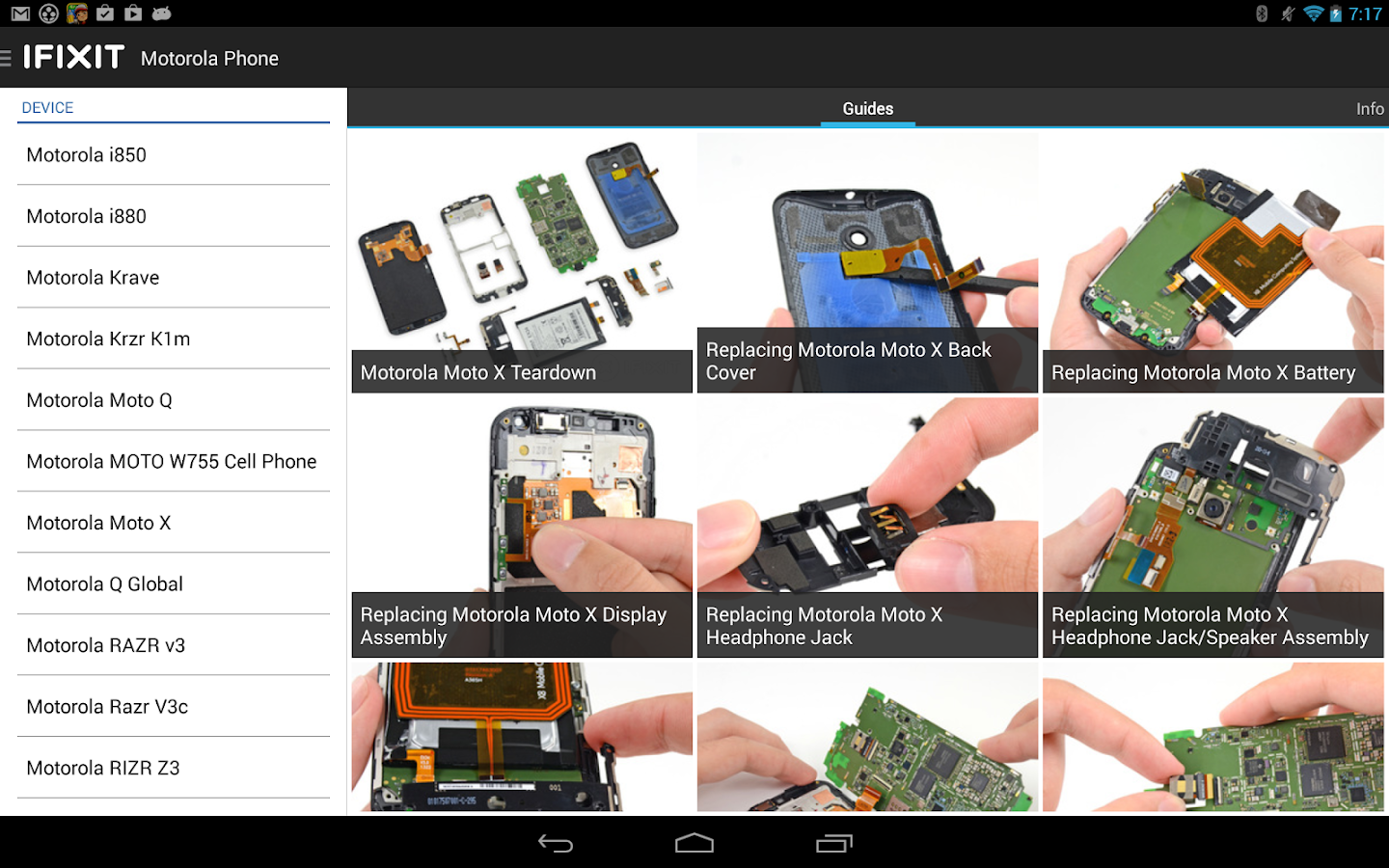 ifixit repair manual android apps on google play. Black Bedroom Furniture Sets. Home Design Ideas