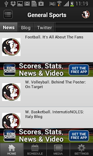Florida State Seminoles Sports - screenshot thumbnail