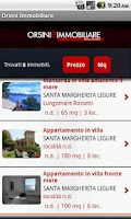 Screenshot of Orsini Immobiliare