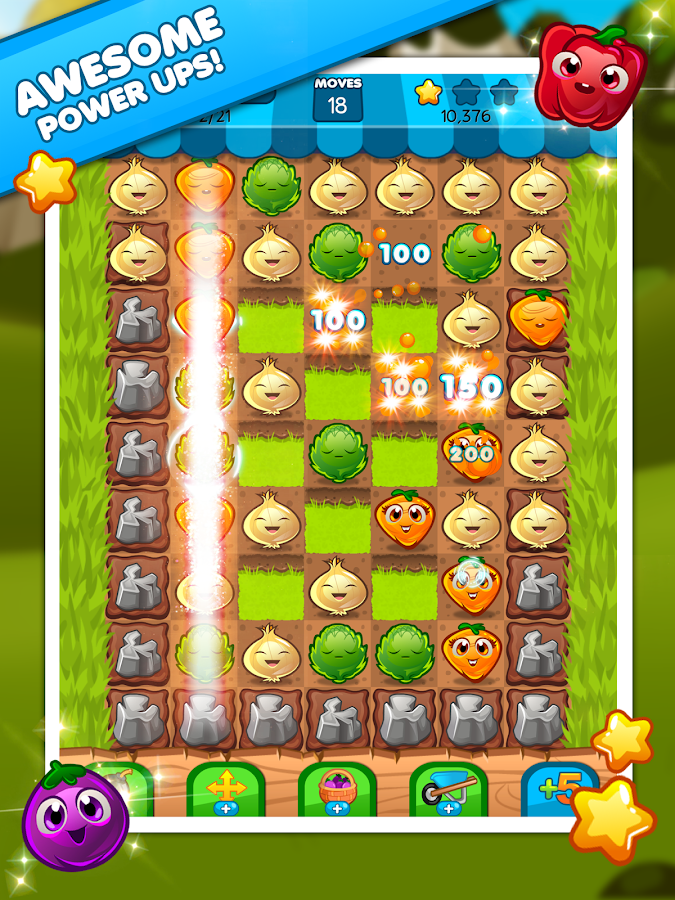 Veggie Blast- screenshot
