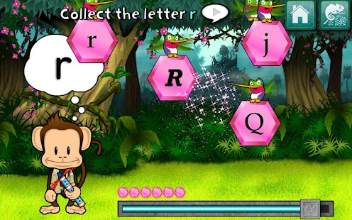 Monkey Word School Adventure- screenshot thumbnail