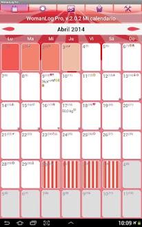 Calendario WomanLog Pro Gratis