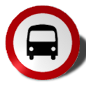 R-Line Bus Locator logo