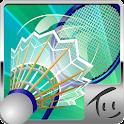 Badminton 3D logo