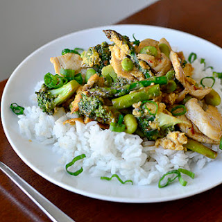 Very-Veggie Chicken Stir Fry.