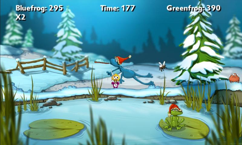 A Frog Game Winter - screenshot