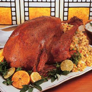 Roast Turkey With Mexican Rub.