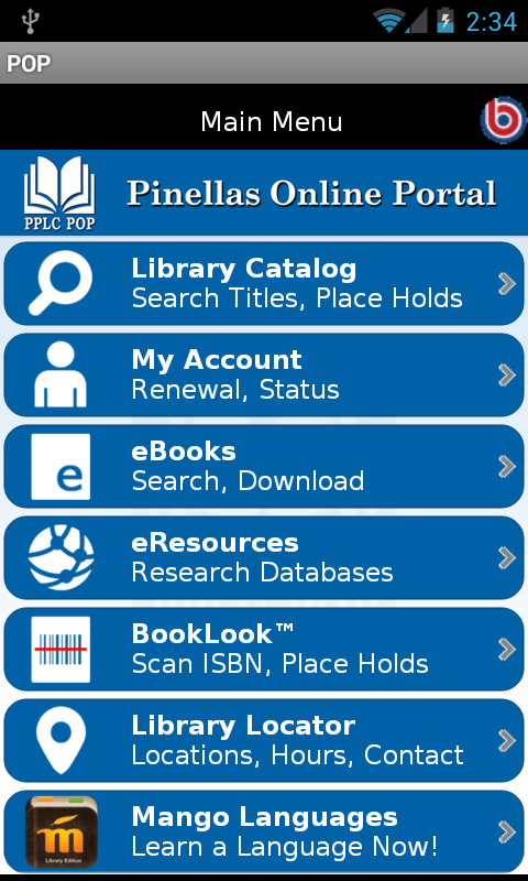 Pinellas Online Portal- screenshot