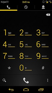 Gummy  CM9 Theme Liberty Gold - screenshot thumbnail