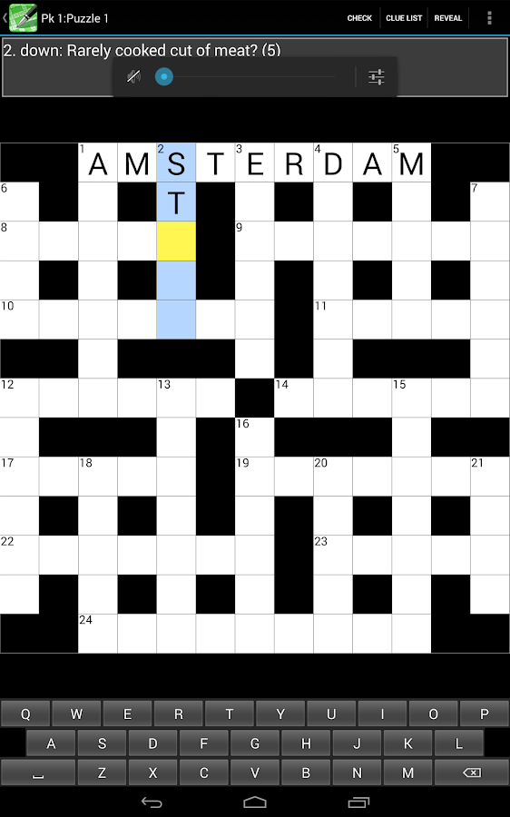 Crossword Cryptic- screenshot