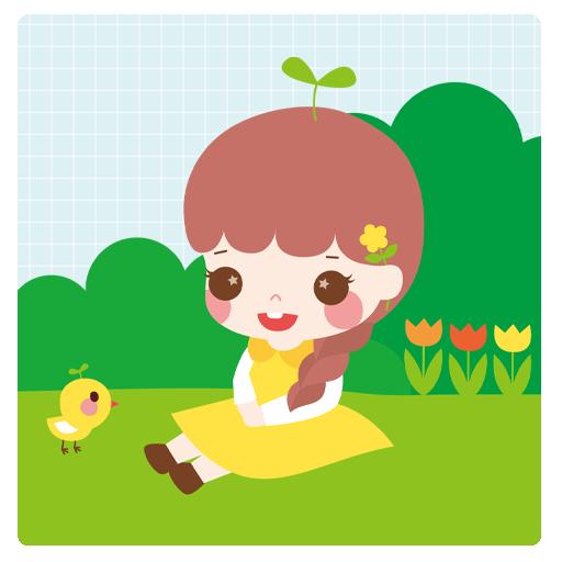 은쥬(봄봄봄) 카카오톡 테마 個人化 App LOGO-APP試玩