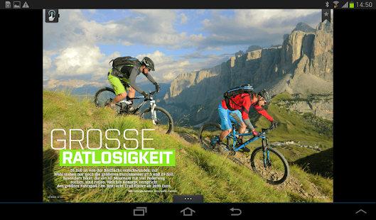 BIKE Das Mountainbike Magazin- screenshot thumbnail