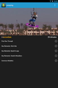 Kitesurfing Progression Player - screenshot thumbnail