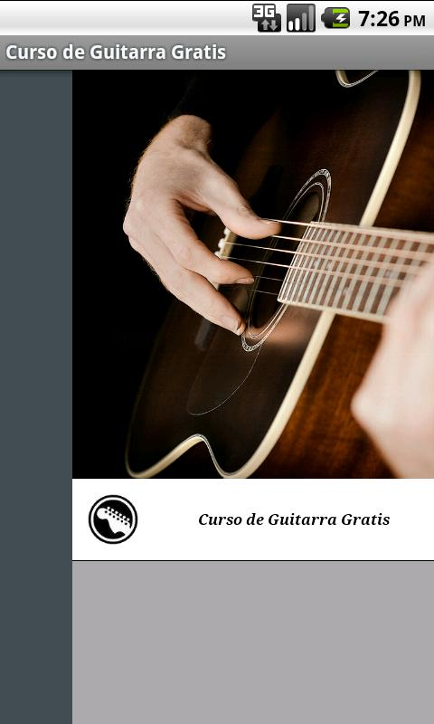 Curso de Guitarra Gratis - screenshot