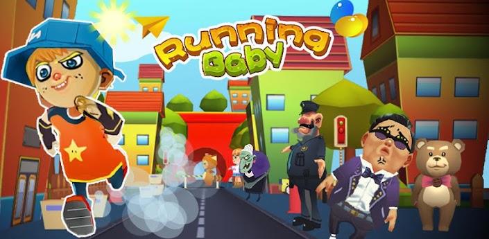Running Baby (Бегущий Мальчик) - игра в стиле Subway Surfers скачать на андроид