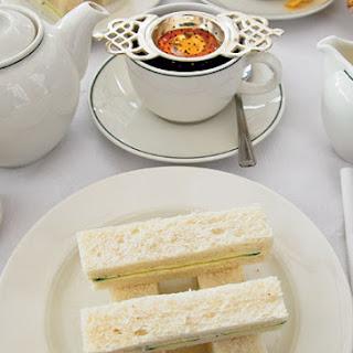 Egg And Watercress Sandwich.
