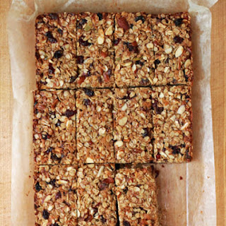 Chewy Fruit and Nut Granola Bars.