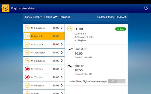 Lufthansa - screenshot thumbnail