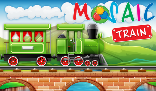 Animated Puzzles Train - screenshot