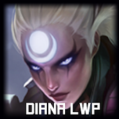 Diana League of Legends LWP