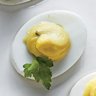 Avocado-Tarragon Eggs